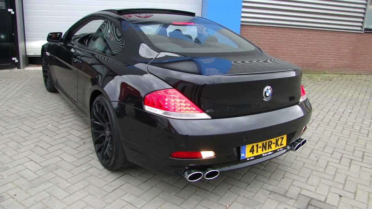 Bmw Performance Exhaust >> BMW 645Ci V8 Hurricane Look Race Exhaust system by ...