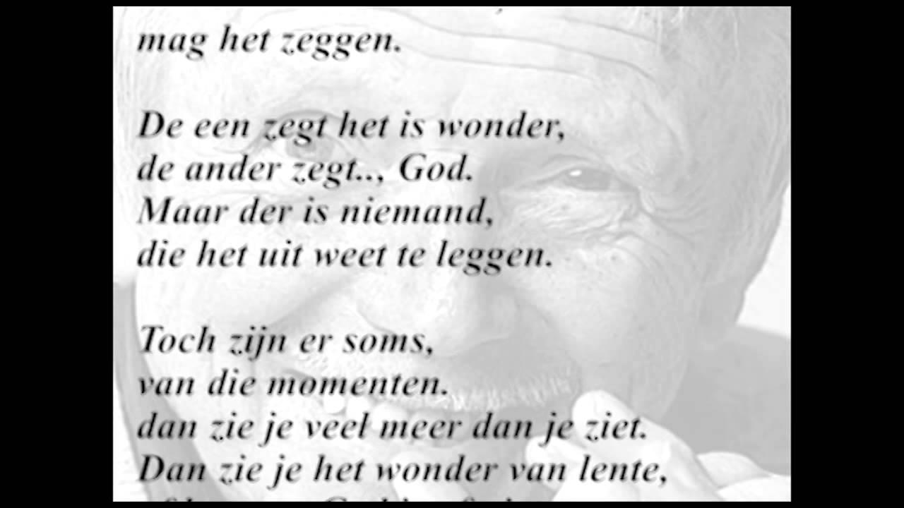 Goede Toon Hermans - Het wonder Songtekst WK-72