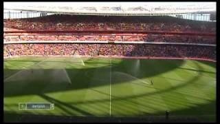 Дебютный матч Аршавина в Арсенале