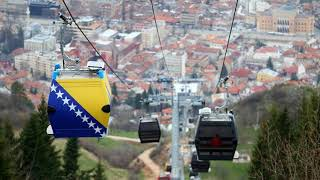 Cable car in Sarajevo reopens after 26 years ,  Trebevic mountain, Bosnia and Herzegovina
