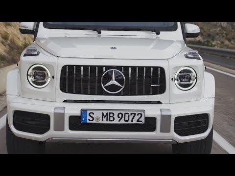 Mercedes AMG G63 2019 Внедорожник Монстр С Мощным Двигателем 4.0 литровым V8 Битурбо.