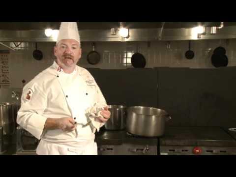 "Community College of Philadelphia: The Chefs, ""Brown Gravy or Espagnol Sauce"""
