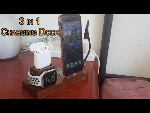 How to Make: DIY 3-in-1 Charging Dock