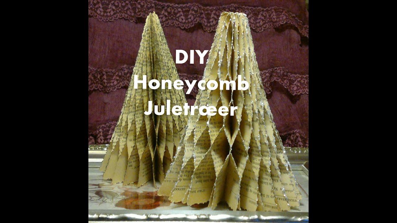Lav Honeycomb Juletræer der kan foldes flade
