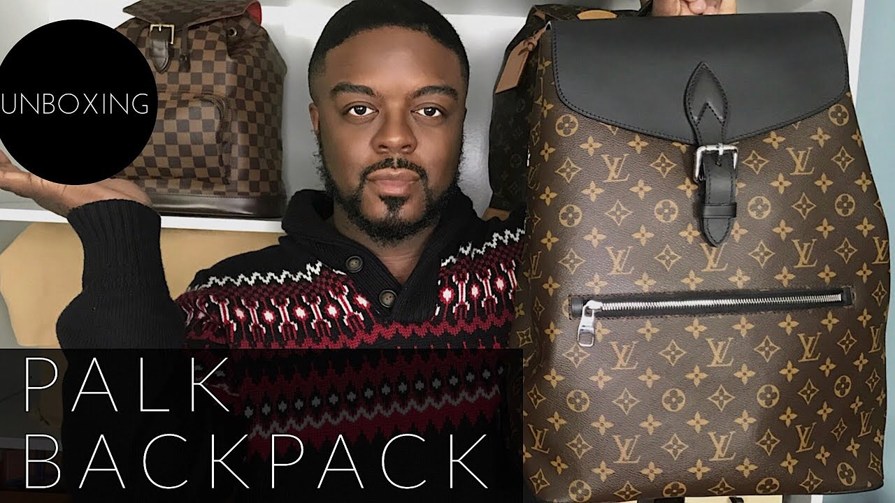 6f6e438bff94 Louis Vuitton Palk Backpack-Fashionphile Unboxing