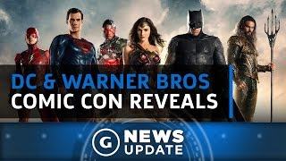 All The DC & Warner Bros. Comic-Con Reveals - GS News Update