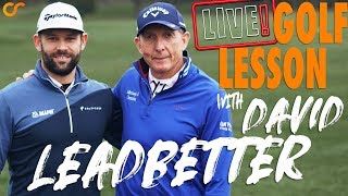 LIVE GOLF LESSON WITH DAVID LEADBETTER / Видео