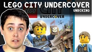 UNBOXING LEGO CITY UNDERCOVER | WII U OTWIERANIE