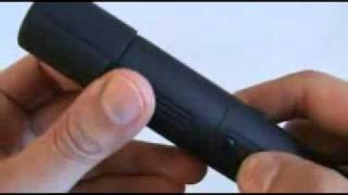 Streetwise 1.2 Million Rechargeable Stun Pen (Lighting Rod) Demonstration