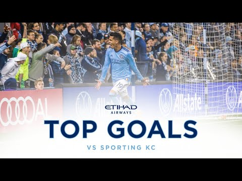 Top Goals   NYCFC vs Sporting KC