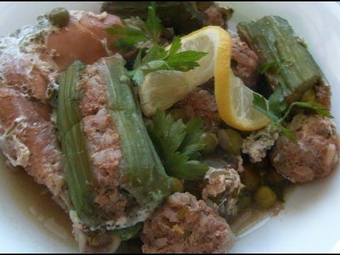 Tajine de cardons cuisine algerienne chez amour de for Amour de cuisine algerienne