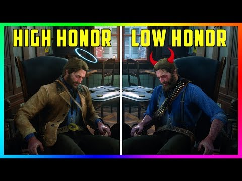 What Happens If Arthur Goes To The Doctor With HIGH Honor Vs LOW Honor in Red Dead Redemption 2? thumbnail