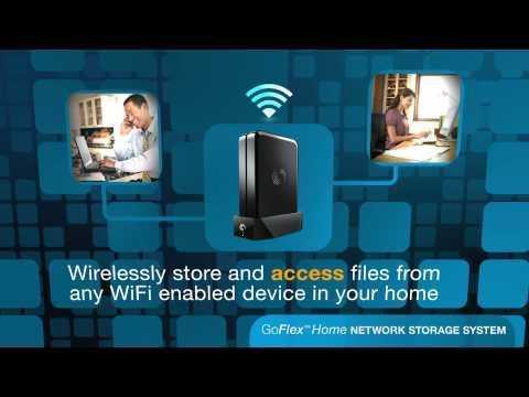 FreeAgent GoFlex: Home Network Storage System