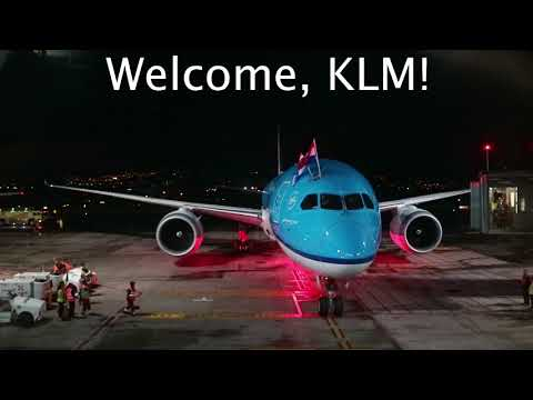 VLOG #1 | KLM INAUGURAL FLIGHT EVENT AND ARRIVAL TO SAN JOSE, CR | Boeing 787 9