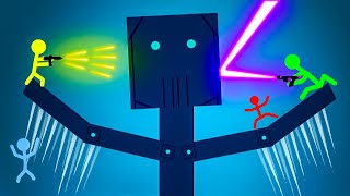 Stick Fight is Back with NEW MAPS!  Stick Fight Multiplayer Funny Moments