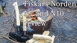 fiskars norden N7 and N10 axe review