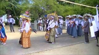 滝宮の念仏踊 入場 2012.8.25.wmv