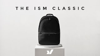 The ISM Classic Backpack demonstrates a sleek look that's understat...