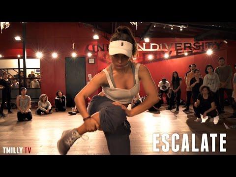 """""""Escalate"""" Tsar B - Choreography by Alexander Chung Ft Jade Chynoweth - #TMillyTV"""
