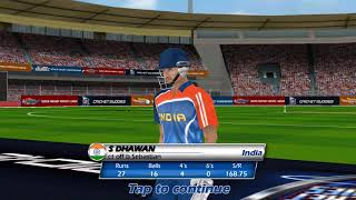 World Cricket Championship ( Match -2) / Android Game / Game Rock