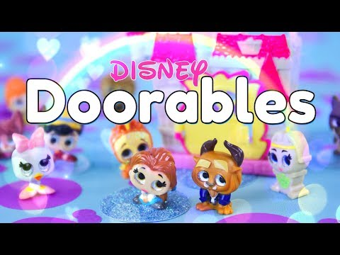 Unbox Daily: Disney Doorables - Beast's Chateau Play Set PLUS Blind Boxes
