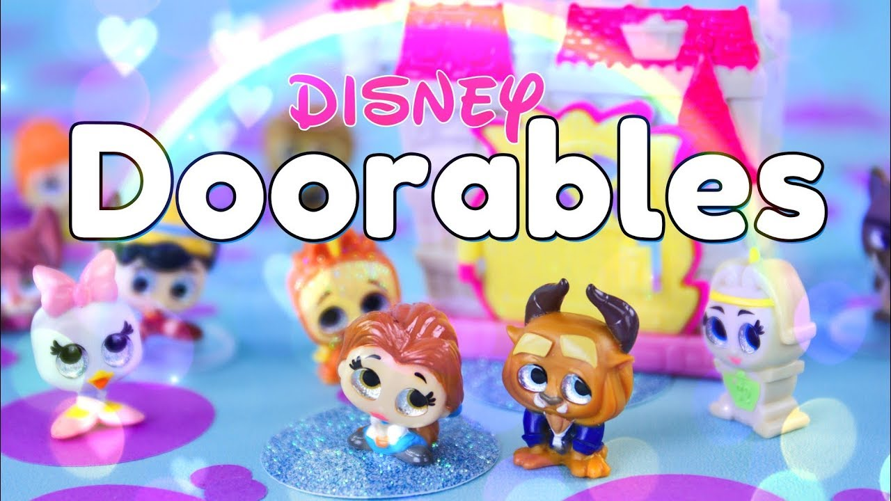 Unbox Daily Disney Doorables Beast S Chateau Play Set