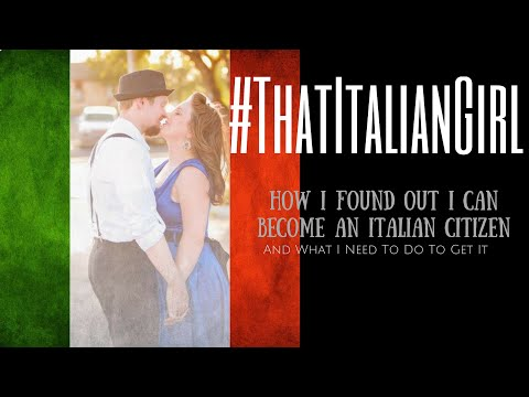 Becoming an Italian: How I Found Out I Qualify for Italian Citizenship (#ThatItalianGirl)