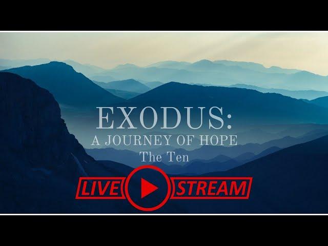 October 10, Pastor Amy, Exodus Series, The Ten
