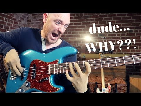 MY FAVORITE BASS WAS STOLEN... and the longest bass lick ever?