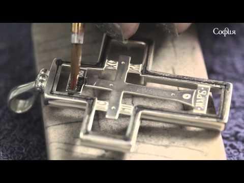 Как производятся нательные кресты
