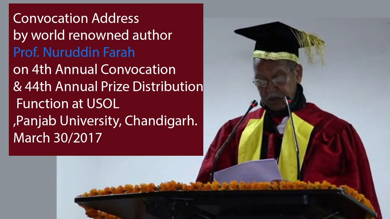 Convocation Address 2018