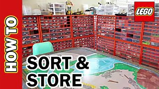 How to Sort and Store LEGO. Tips for Sorting & Storage Bins. Tutorial: Create Labels for LEGO
