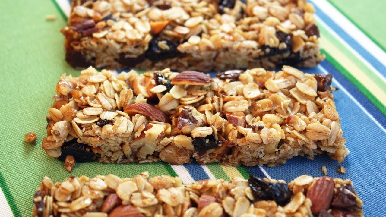 Granola Bars Easy One Bowl Recipe