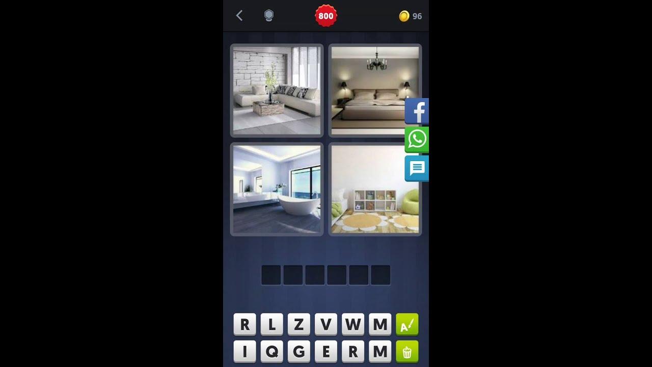 4 bilder 1 wort [wohnzimmer, schlafzimmer, bad, zimmer] - youtube