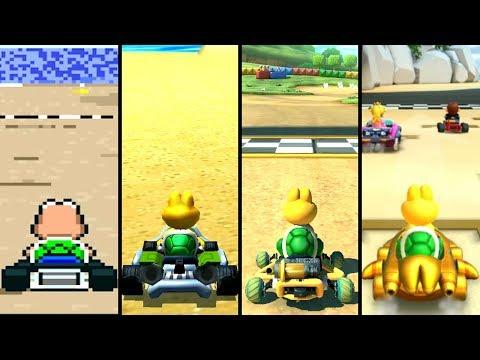 Evolution Of Koopa Troopa In Mario Kart (1992-2019)