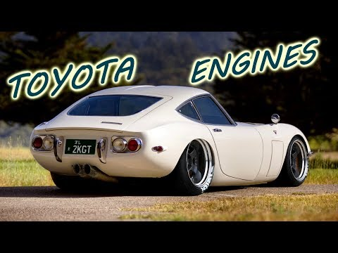 7 of Toyota´s Greatest Engines Throughout History