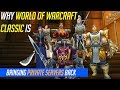 Why World of Warcraft Classic Is Bringing Private Servers Back