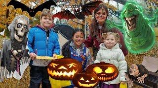 Хэллоуин в парке развлечений. Camp Spooky Halloween in Canadas Wonderland