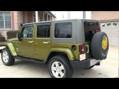 2008 jeep wrangler unlimited sahara 4x4 for sale see www sunsetmilan com youtube. Black Bedroom Furniture Sets. Home Design Ideas