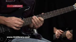 Flying High Again - Guitar Solo - Slow & Close Up - www.licklibrary.com