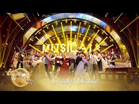 Group Dance to 'Food, Glorious Food' from Oliver! - Strictly Come Dancing 2017