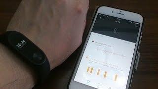 Настройка Mi Band 2 и приложения MiFit