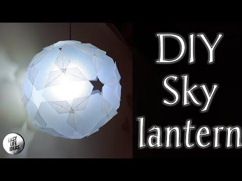 DIY Sky lantern (Star Ball)