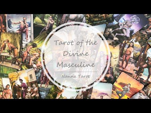 開箱  神聖陽剛塔羅牌 • Tarot of the Divine Masculine // Nanna Tarot