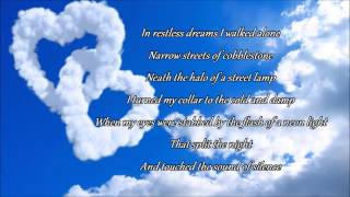 Aaron Mcclelland & Chelsie - The Sound Of Silence (Lyrics) YouTube Videos