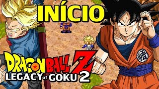 Dragon Ball Z: The Legacy of Goku 2 (GBA) - O Início