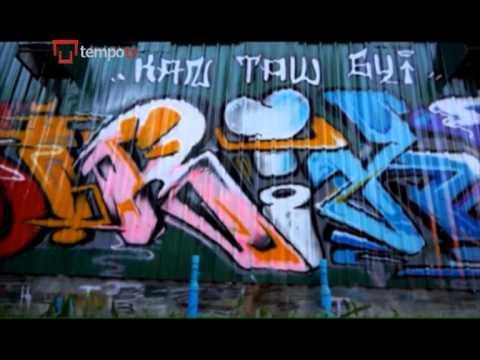 Burma Graffiti
