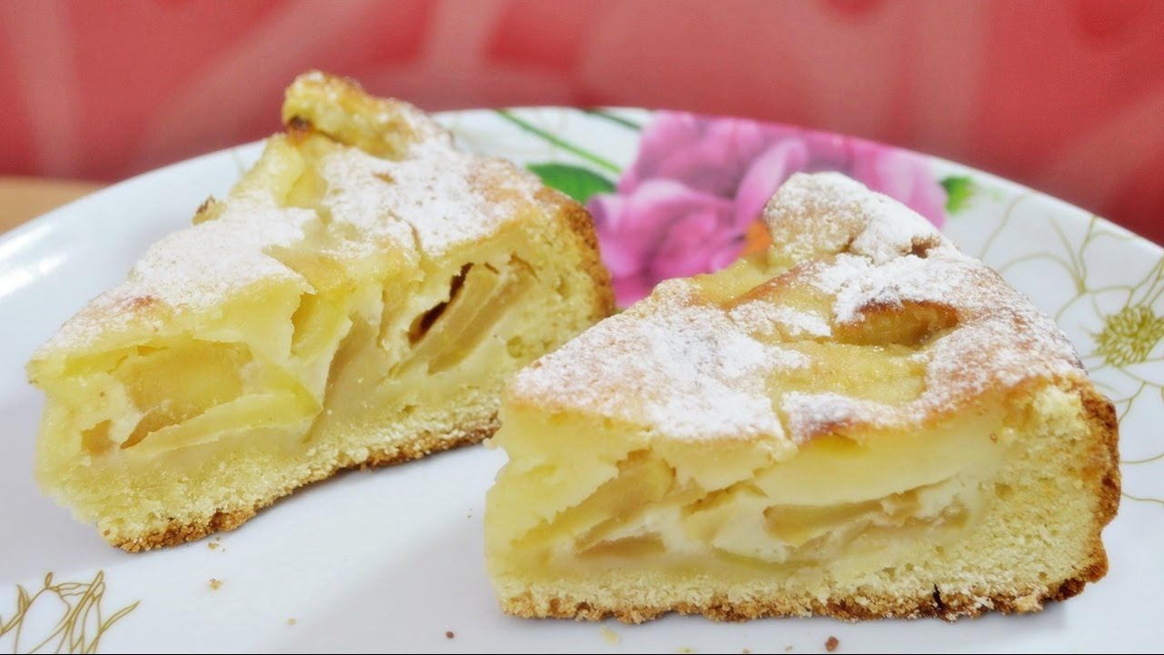 Цветаевский яблочный пирог - безумно вкусно!