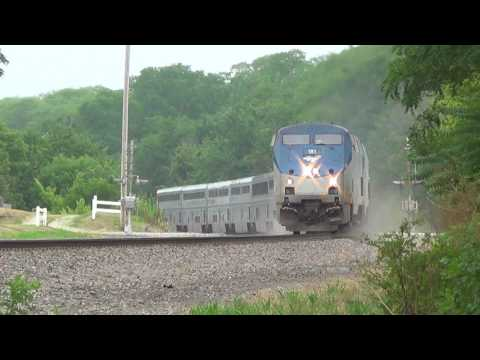 Thumbnail: Shave and a Haircut from Left-Hand-Running Amtrak
