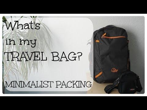 What's In My Travel Bag, Amsterdam Edition | Minimalism & Zero Waste